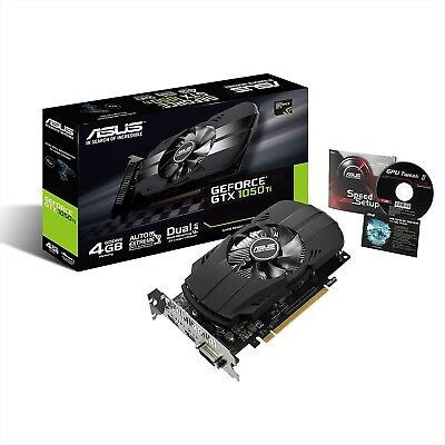$ CDN258.70 • Buy ASUS Geforce GTX 1050 Ti 4GB Phoenix Fan Edition DVI-D HDMI DP 1.4 Gaming Card