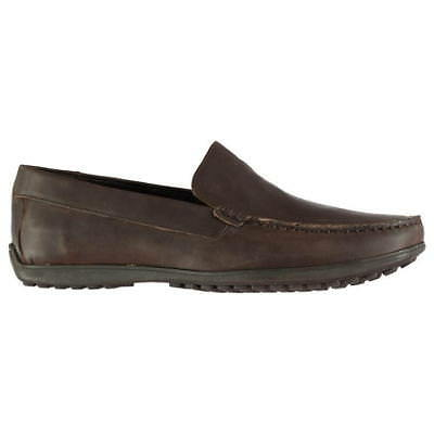 ROCKPORT Men's Bayley Venetian Casual Shoes, Genuine Leather, Brown, UK 9 10 • 35.99£
