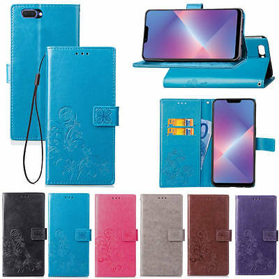 AU12.99 • Buy Fashion Embossed Patterned Flip PU Leather Wallet Card Lot Stand Case Cover SYC