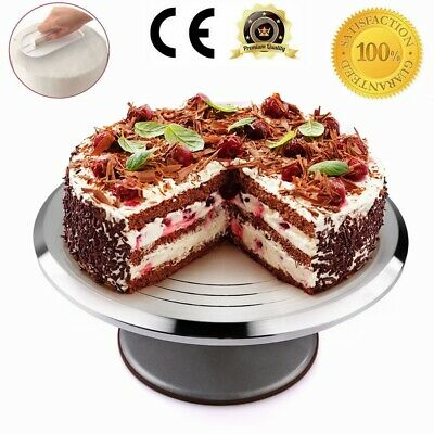 30cm Kitchen Cake Decorating Icing Rotating Revolving Turntable Display Stand  • 12.99£