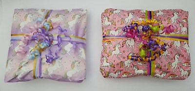£15.99 • Buy Unicorn Pass The Parcel GIRLS 10 Or 15 Layers + Main Prize Party Games Read Made