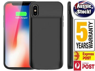 AU29.96 • Buy For IPhone X XS XR XS MAX 6000 MAh Rechargeable Portable Charging Battery Case