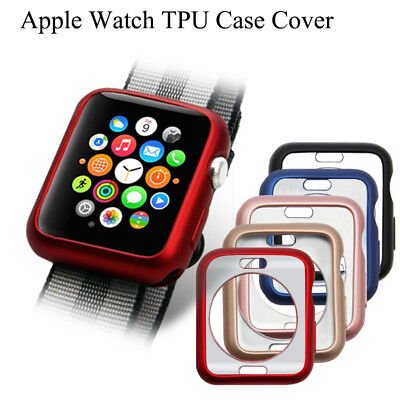 $ CDN3.01 • Buy For Apple Watch 38/40/42/44mm IWatch Case Cover TPU Soft Bumper Protective Skin