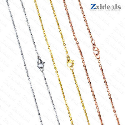 £1.17 • Buy Rose/ Gold / Silver Plated Necklace Or Bracelet 1.5 - 3mm Extender Chain 40-65cm