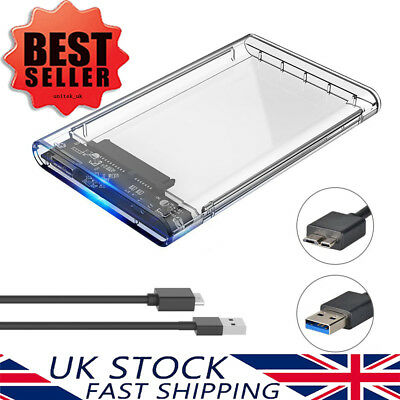 £6.98 • Buy ORICO 2.5 Inch SATA To USB 3.0 External Hard Drive HDD /SSD Enclosure Caddy Case