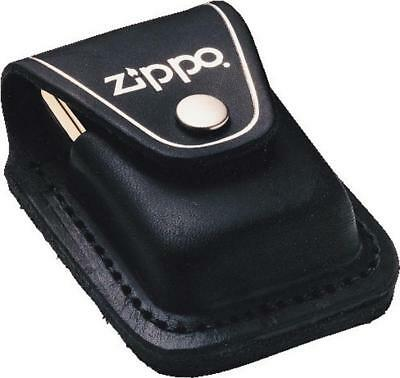 $14.84 • Buy Zippo Lighter Pouch Black Leather Made In USA 17050