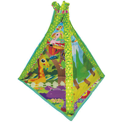 Lamaze 4in1 Play Gym Activity Mat Tummy Time Baby/Infants/Toddler W/Mirror/Toys  • 53.79£