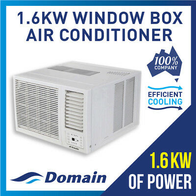 AU419 • Buy New Domain 1.6kw Window Wall Box Refrigerated Cooling Air Conditioner