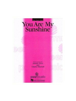 You Are My Sunshine Learn To Play Present Piano Voice SHEET MUSIC BOOK • 14.39£