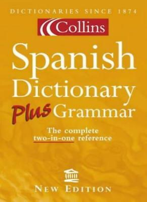 Collins Spanish Dictionary Plus Grammar By Anon. • 2.82£