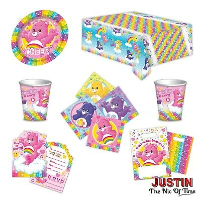 £2.35 • Buy CARE BEARS Happy Birthday Party Supplies Tableware Decorations Balloons Banners