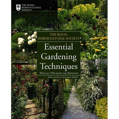 Royal Horticultural Society: Essential Gardening Techniques By Barbara Haynes,R • 2.69£