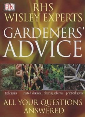 RHS Wisley Experts Gardeners' Advice (Royal Horticultural Society) By Royal Hor • 2.69£