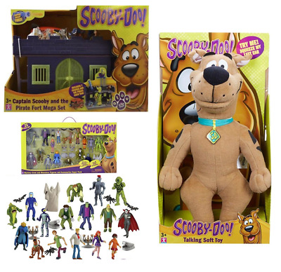 Scooby Doo Pirate Fort/Haunted Mansion/Soft Toy/Mystery Crew Monsters Set • 46.99£