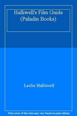 Halliwell's Film Guide (Paladin Books) By Leslie Halliwell. 9780586088944 • 2.89£