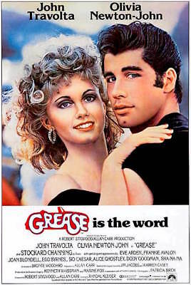 £8.41 • Buy GREASE - CLASSIC MOVIE POSTER 24x36 - 52934