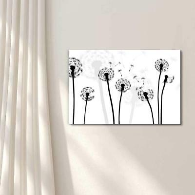 $29.99 • Buy Wall26 - Black And White Style Dandelion - Canvas Art Home Decor - 16x24 Inches