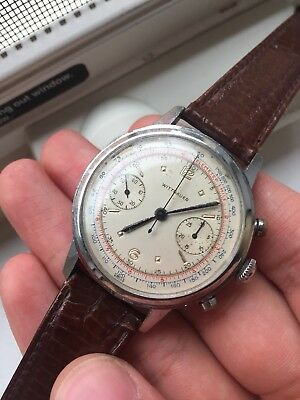 $ CDN1318.19 • Buy VINTAGE WITTNAUER STAINLESS STEEL CHRONOGRAPH Mechanical WATCH