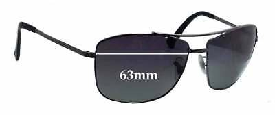 35cfa97d72c SFx Replacement Sunglass Lenses Fits Ray Ban RB3476 - 63mm Wide • 45.93