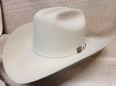 98f510acf5 New Mens Larry Mahans Belly 100X Beaver Fur Felt Western Cowboy Hat •  719.99