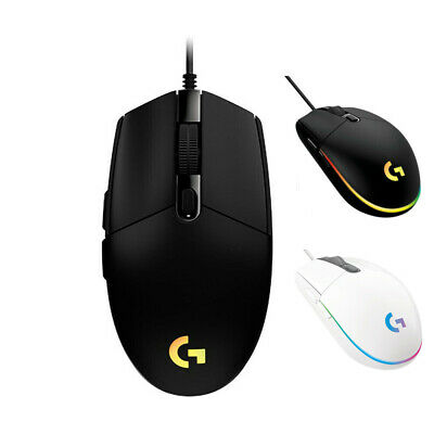 AU48.49 • Buy 2020 NEW Logitech G102 G203 Prodigy Gaming Mouse Wired 6 Programmable 8000 DPI±