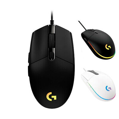 AU49.99 • Buy Logitech G102 G203 Prodigy Gaming Mouse Wired 6 Programmable Buttons 8000 DPI±