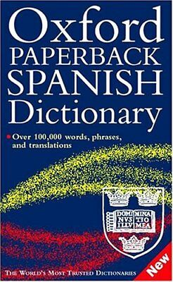 Oxford Paperback Spanish Dictionary By Carol Styles Carvajal, Michael Britton, • 2.82£