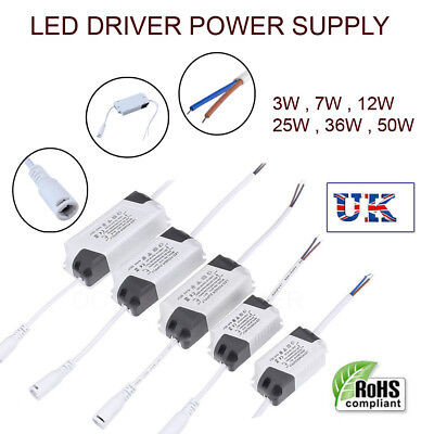 £2.59 • Buy LED Adapter Constant Current Transformers Power Supply Drivers For LED Strips UK