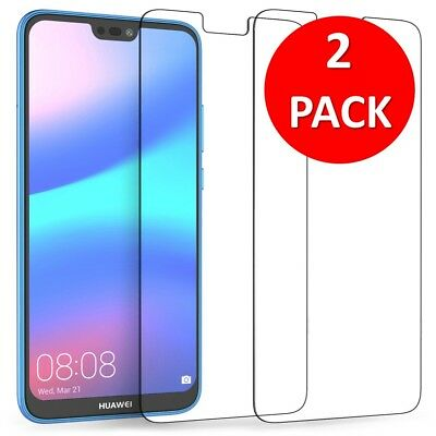 For Huawei P10 LITE Tempered Glass Screen Protector Premium Protection , 2 PACK • 2.62£