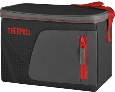 AU15 • Buy THERMOS Radiance 6 Can Soft Cooler Bag Black AUTHENTIC Cold Storage