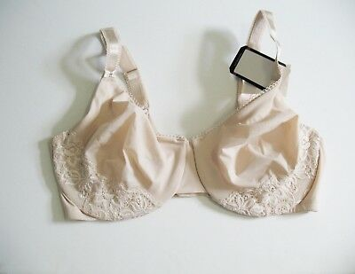 7b70744c152a0 Olga Luxury Lift Full Figure Underwire Bra Nude 35063T Sz 38C - NWT • 23.99