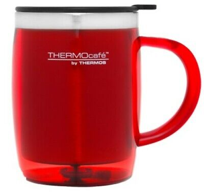 AU8 • Buy THERMOS Thermocafe Plastic Outer Desk Mug 450ml RED AUTHENTIC
