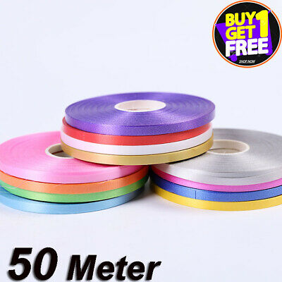£1.99 • Buy 50 METERS BALLOON CURLING RIBBON FOR PARTY GIFT WRAPPING BALLOONS STRING TIE New