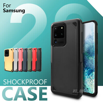 AU9.95 • Buy Shockproof Hybrid Protective Case Cover Bumper For Samsung S20 Ultra S10 S9 Plus