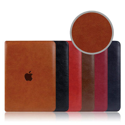 AU25.95 • Buy Ultra Thin Genuine Leather Stand Cover Smart Case For IPad 5 6 7 8 Air4 Mini 2 3