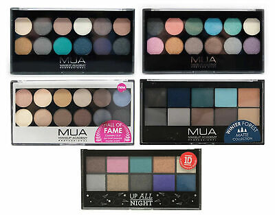 £1.99 • Buy New MUA Make Up Academy High Quality Eyeshadow Palette Palette Choice Of Shades