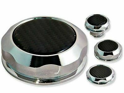 AU99 • Buy Holden Chrome Carbon Top Alloy Billet Engine Cap Kit VE V8 6.0 6.2 L98 LS2 LS3
