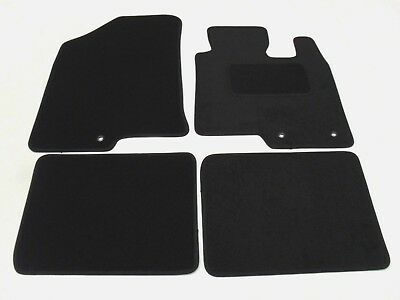 Hyundai I40 2011-on Fully Tailored Deluxe Car Mats In Black. • 13.85£