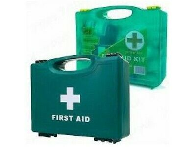 £11.25 • Buy HSE 1 - 10 Person First Aid Kit + Box Standard Or Premium (+wall Bracket)