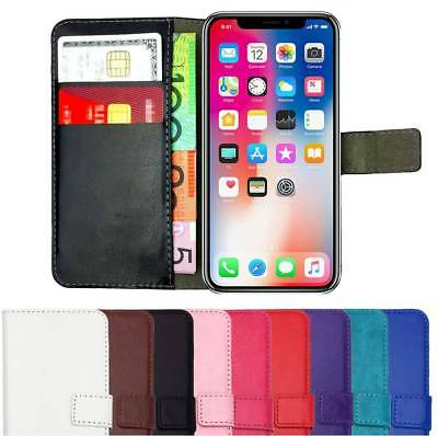 AU8.75 • Buy Premium Leather Flip Wallet Case Card Gel Cover NEW For IPhone X XR XS MAX 8 7 6