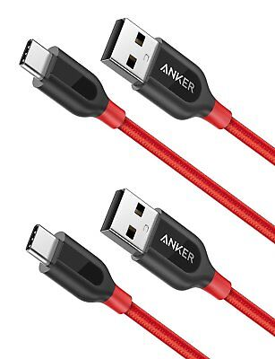 AU29.55 • Buy [2-Pack] Anker PowerLine+ USB C To USB A Fast Charging Cable, For Samsung Galaxy
