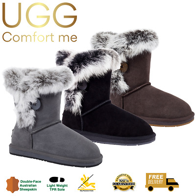 AU99 • Buy UGG Boots, Bailey Button Fur, Australian Sheepskin, Auzland, Womens