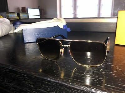 05fea8a8c9 Louis Vuitton Attitude Aviator Sunglasses Mens • 675.00