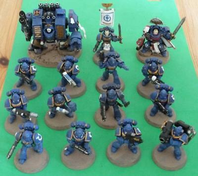 Warhammer 40,000 Ultra Marines Start Collecting Space Marines Set Painted • 74.25£