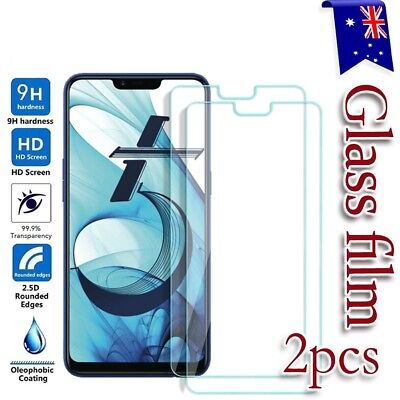 AU5.95 • Buy 2X For Oppo AX5 AX5s AX7 Reno2 Z A5 A9 2020 Tempered Glass Screen Protector