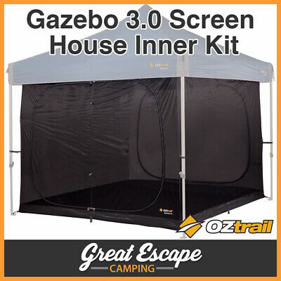 AU149.90 • Buy OZtrail Gazebo 3.0 Screen House Inner Kit