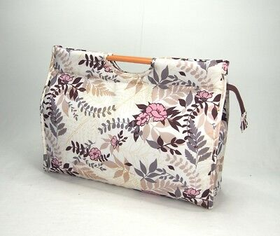 Knitting Bag Wool / Yarn / Craft Storage Bag Pretty Floral Design, Fully Lined  • 14.99£