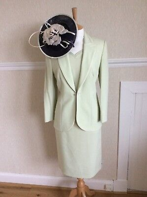 Jacques Vert Dress And Jacket Size 10 Worn Once For Wedding Hols • 50£