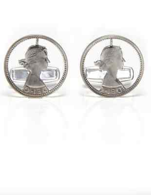 £45 • Buy Paul Smith Cufflinks - NEW Men's Silver Cut Out Sixpence Coin Cufflinks RRP:£85