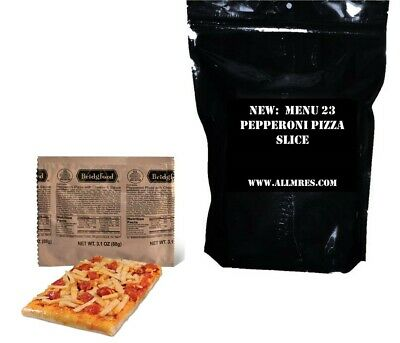 $19.99 • Buy Menu 23 US Military Pepperoni Pizza MRE / FULL 'MEAL, READY TO EAT'